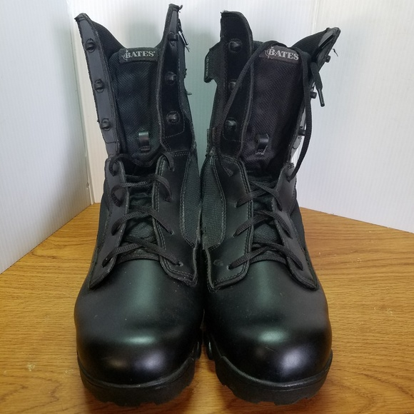 cabcd802011 Bates Black Tactical Boots Military Style Sz 13